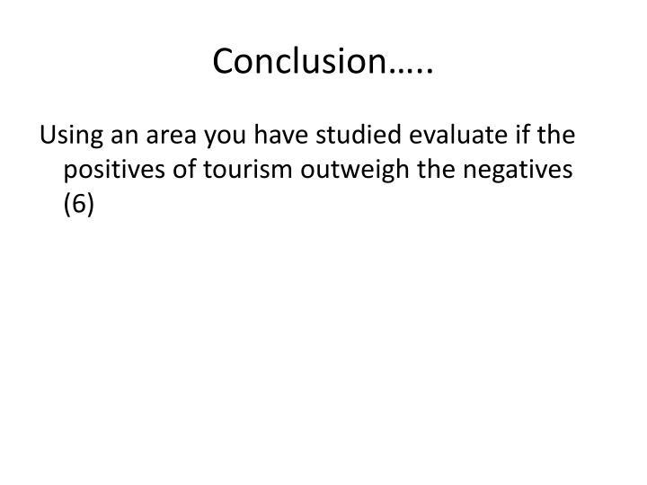 Conclusion…..