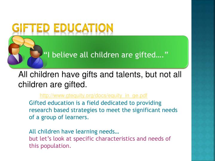 Gifted education1