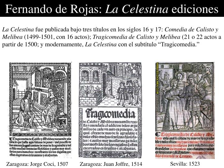 Fernando de Rojas:
