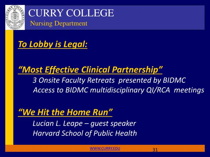To Lobby is Legal: