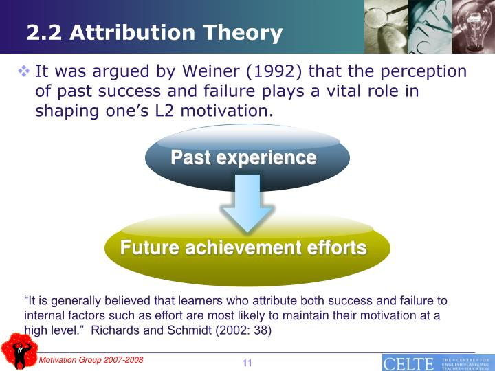 2.2 Attribution Theory
