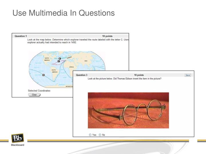 Use Multimedia In Questions
