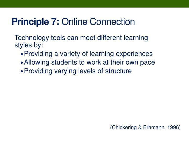 Principle 7:
