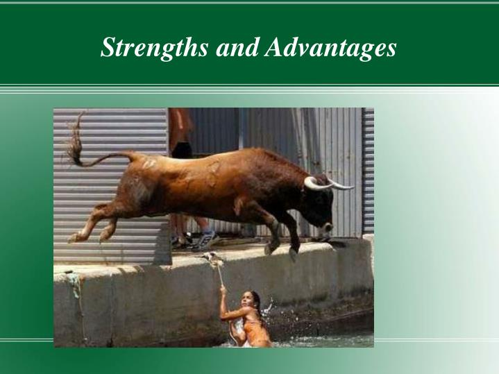 Strengths and Advantages