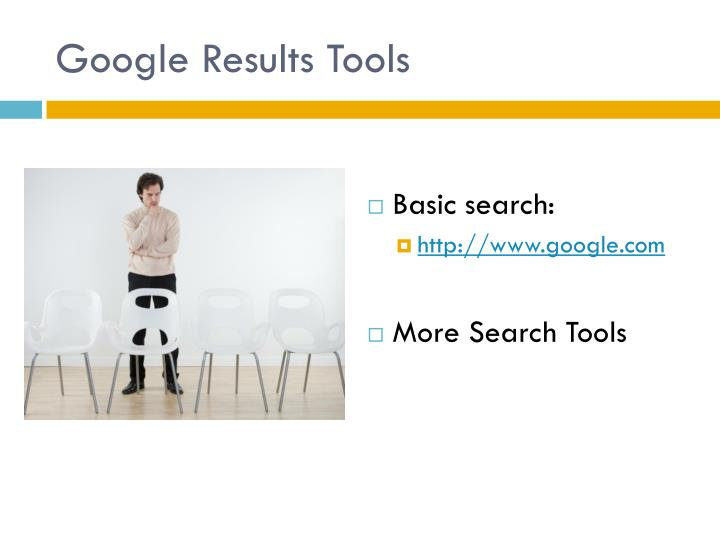 Google Results Tools
