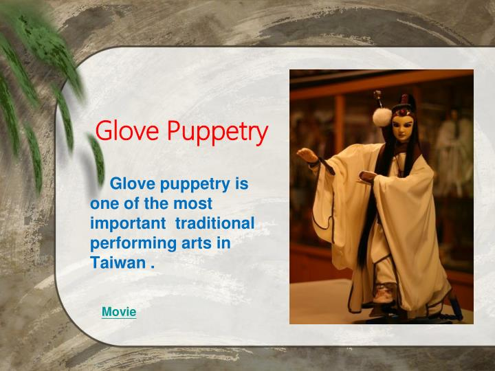 Glove Puppetry