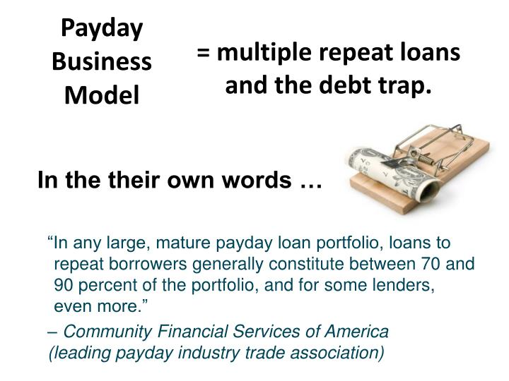 Payday Business Model