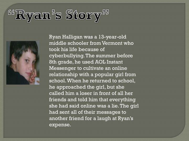 """""""Ryan's Story"""""""