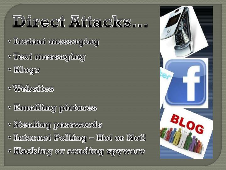 Direct Attacks…
