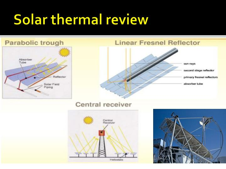 Solar thermal review