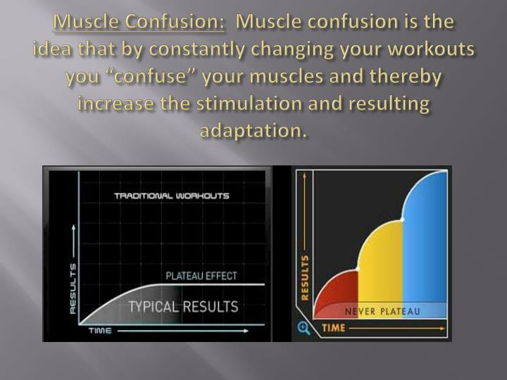 Muscle Confusion: