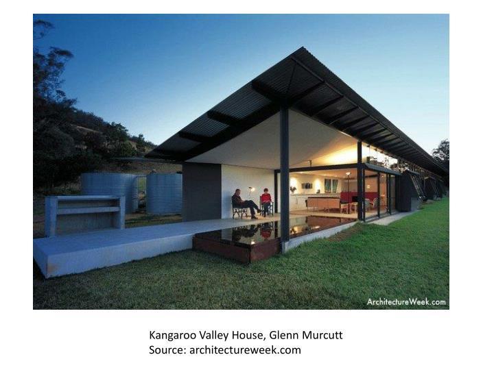 Kangaroo Valley House, Glenn