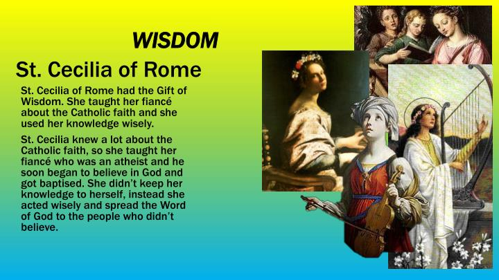 St. Cecilia of Rome