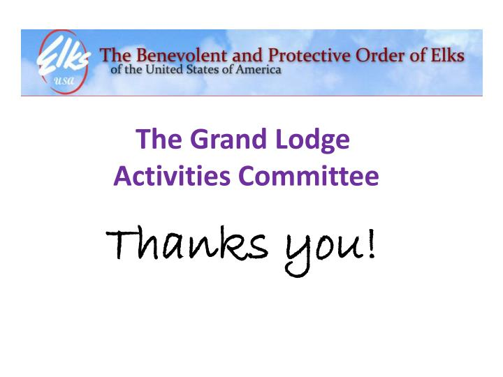 The Grand Lodge