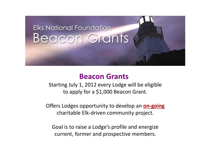 Beacon Grants