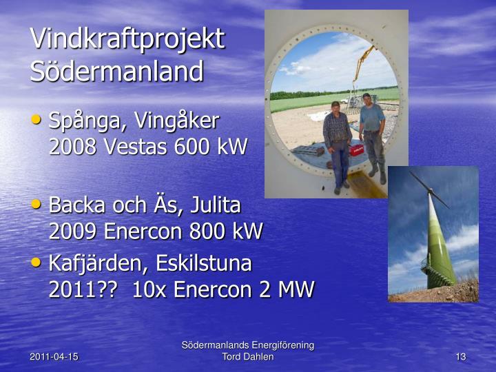 Vindkraftprojekt