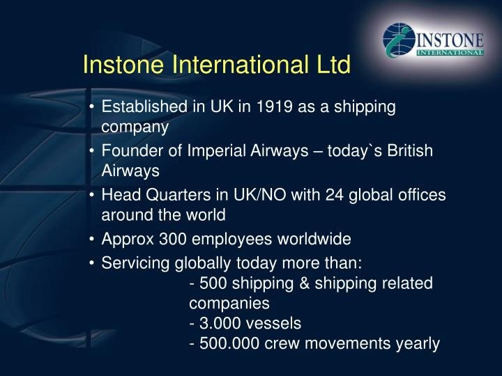Instone international ltd