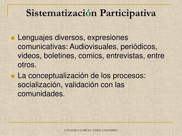 Sistematizaci