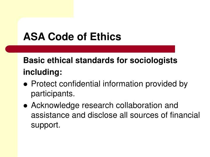 asa code of ethics pdf