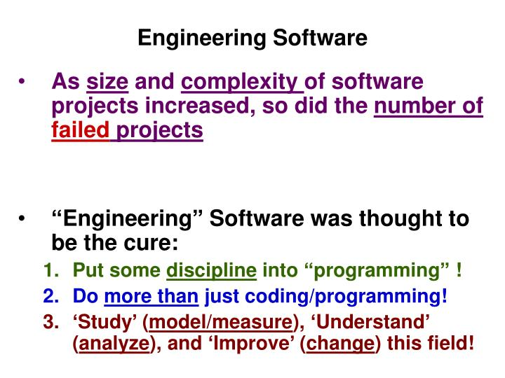 software engineering project failure