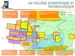 un coll ge scientifique et technologique
