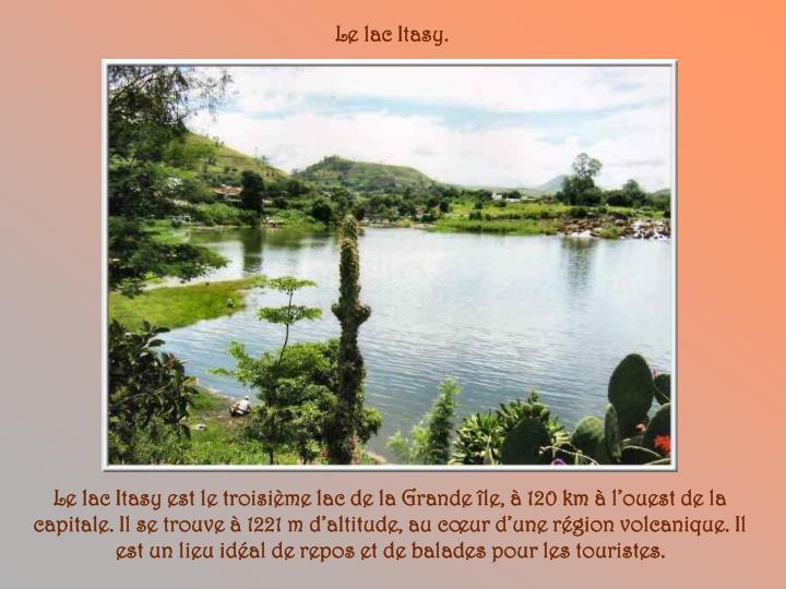 Le lac Itasy.
