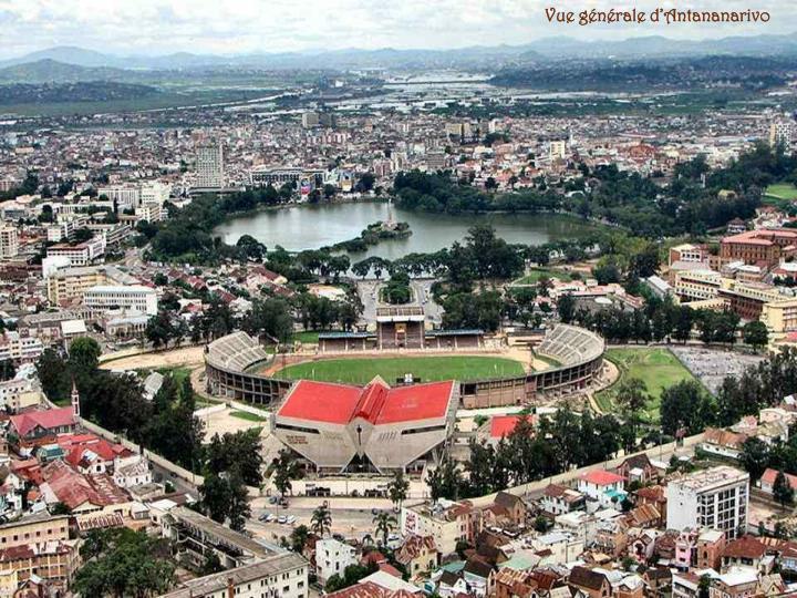 Vue générale d'Antananarivo