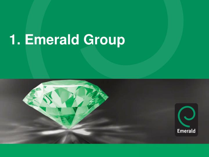 1. Emerald Group