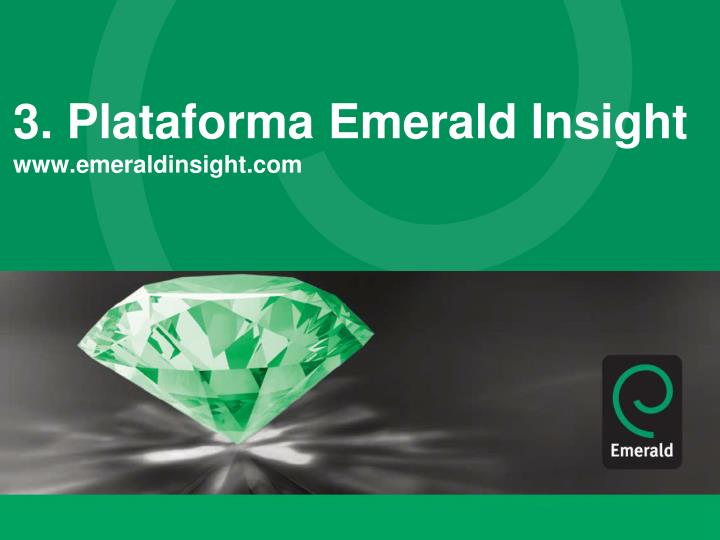 3. Plataforma Emerald Insight