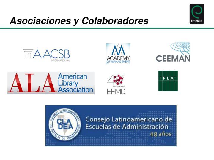 Asociaciones y Colaboradores