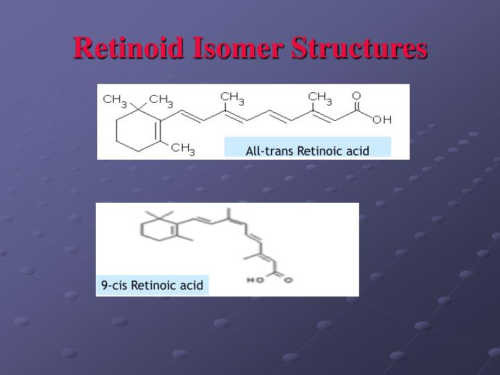 Retinoid Isomer Structures
