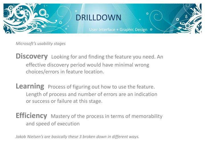 DRILLDOWN