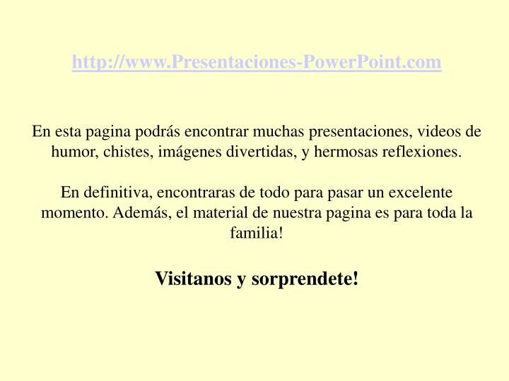 http://www.Presentaciones-PowerPoint.com