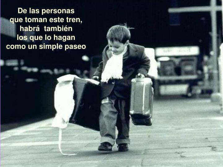 De las personas