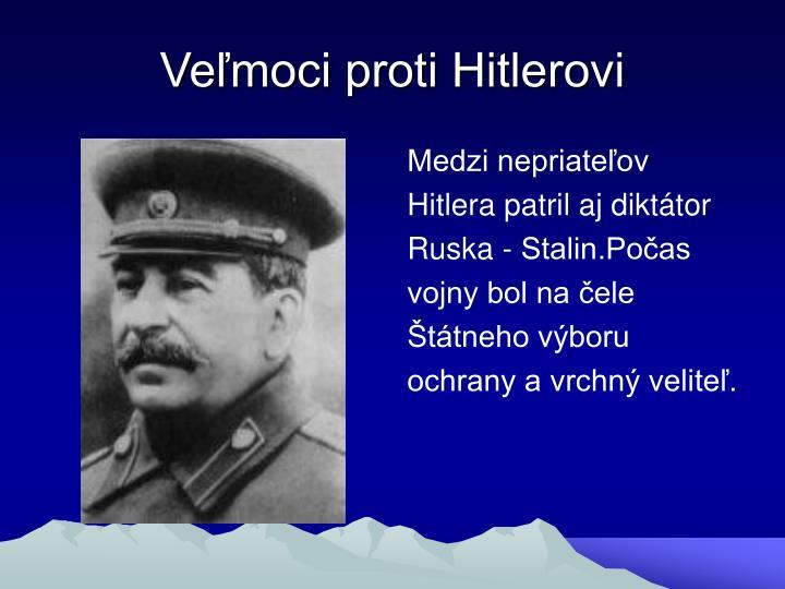 Veľmoci proti Hitlerovi