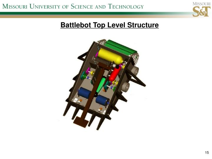 Battlebot Top Level Structure