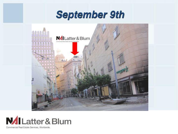September 9th