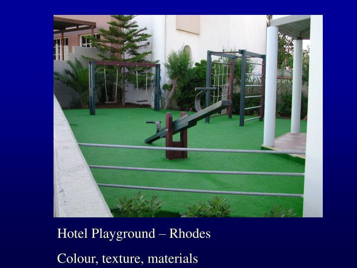 Hotel Playground – Rhodes
