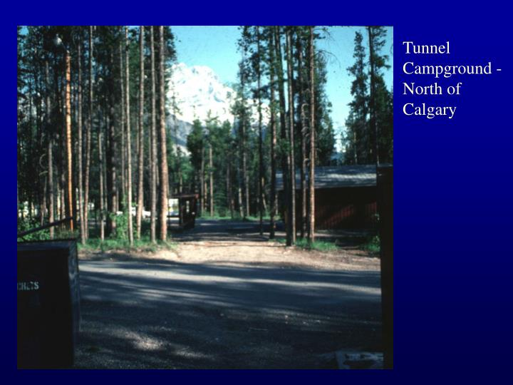 Tunnel Campground - North of Calgary