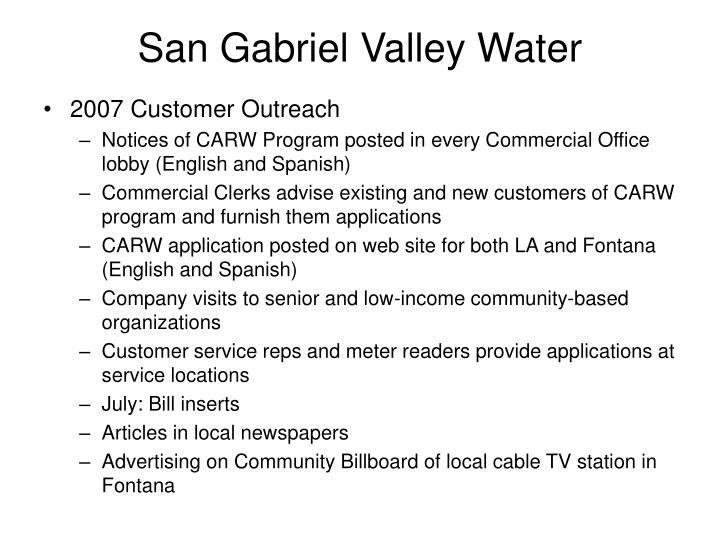 San Gabriel Valley Water