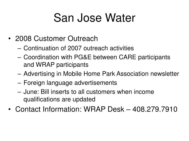 San Jose Water