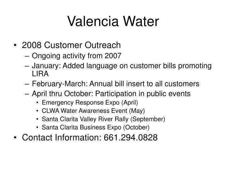 Valencia Water