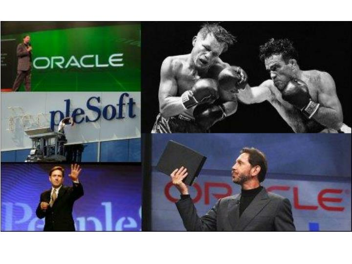 Oracle vs peoplesoft