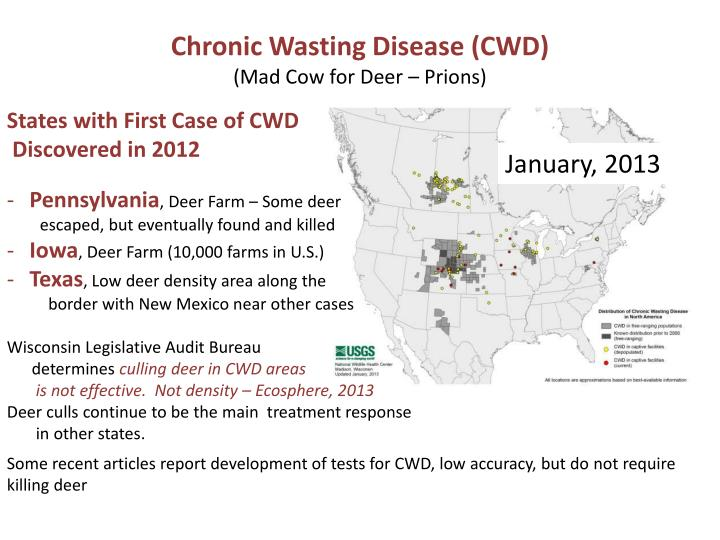 Chronic Wasting Disease (CWD)