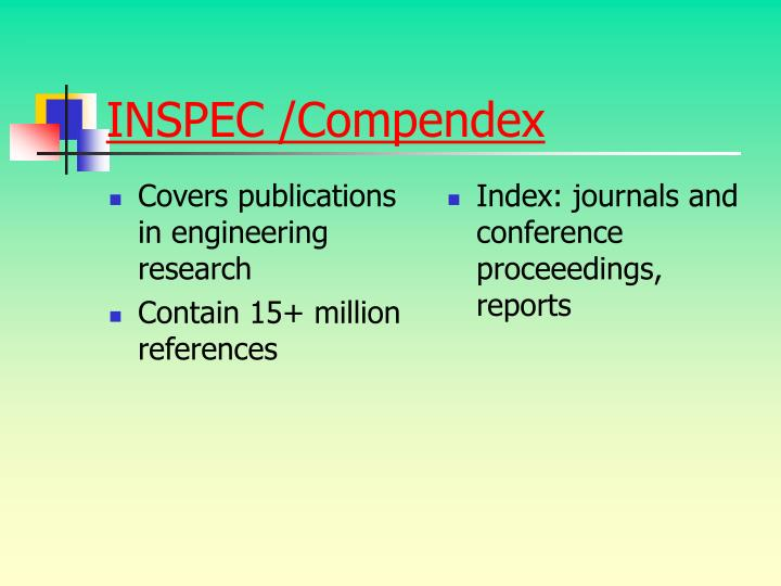 Covers publications in engineering research