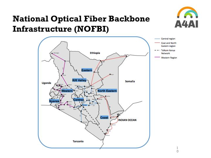 National Optical Fiber Backbone Infrastructure (NOFBI)