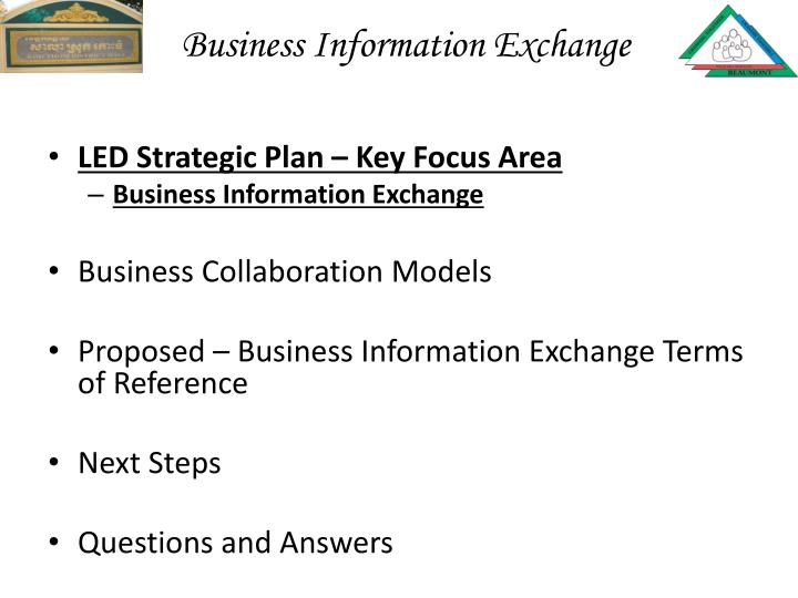 Business Information Exchange