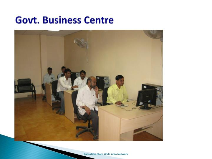 Govt. Business Centre