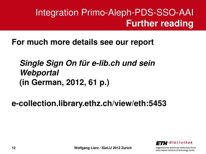Integration Primo-