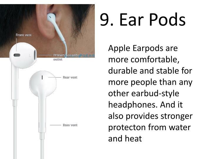 9. Ear Pods